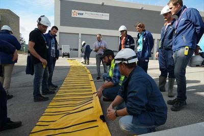 EDF Megasecureurope sel baskınına karşı koruma