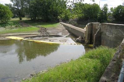Nehir derivasyon batardo çalışması