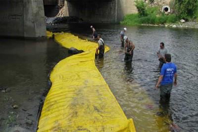 batardeau rivière déviation du cours d'eau