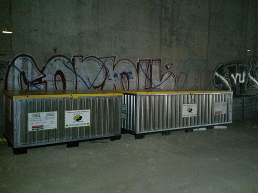 İstasyon taşkın koruma dubalar