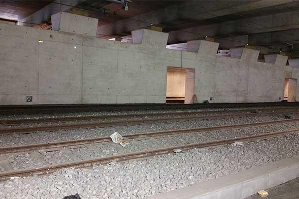Sel baskını RER C SNCF